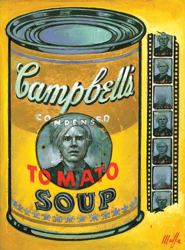 Campbell's, oil/panel 16inX12in N/A