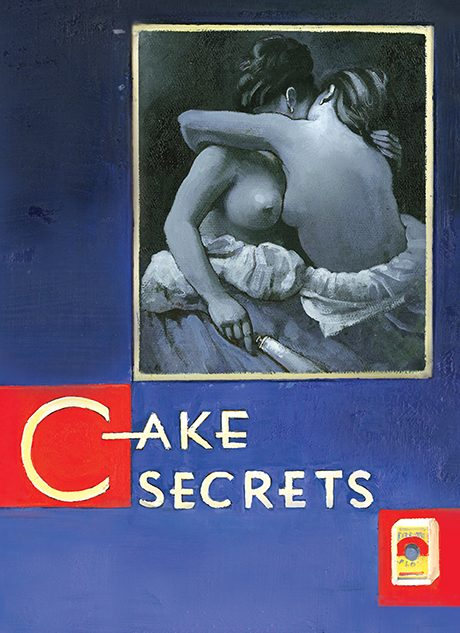 Cake Secrets, oil on canvas 36inX24in