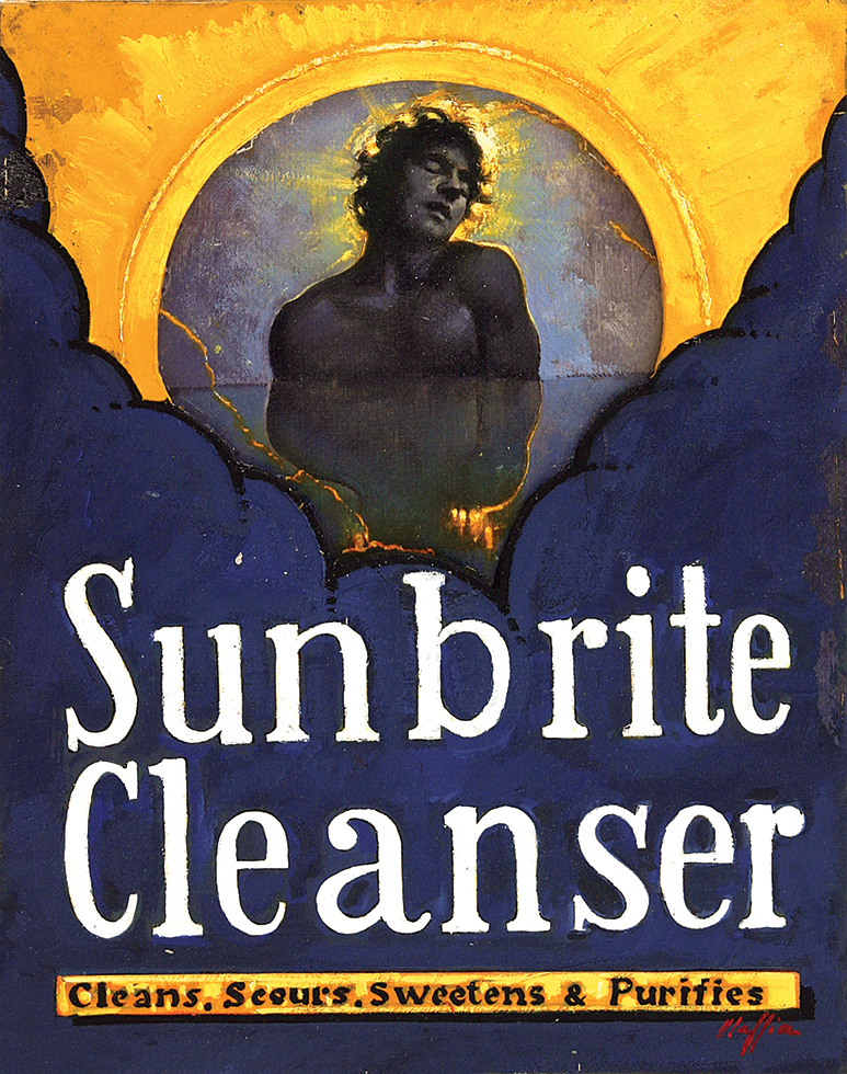 Sunbrite Cleanser, oil on canvas 36inX24in