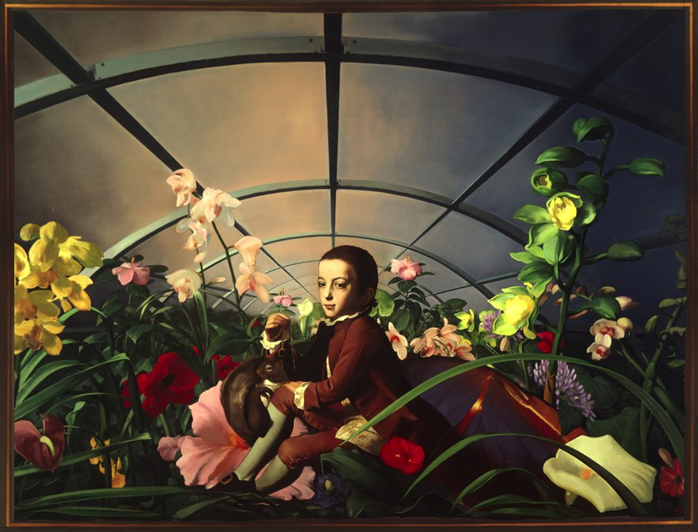Verplanck's Hothouse, oil on canvas 78InX120in N/A