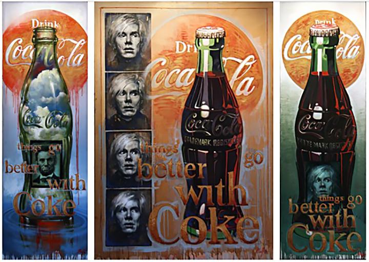 Coca Cola Triptych
